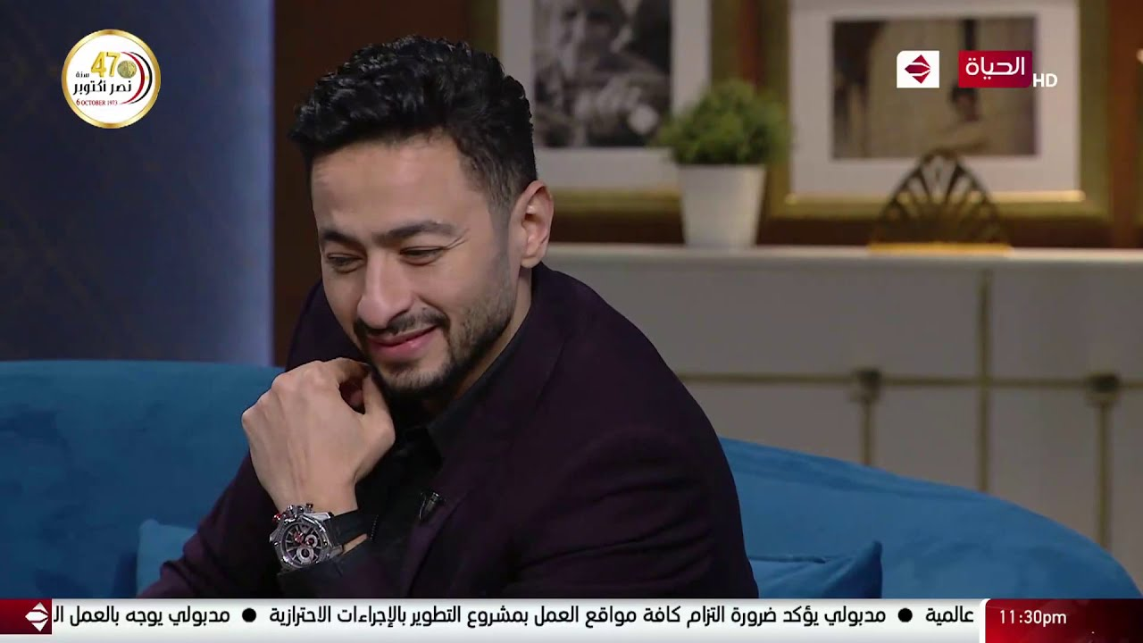واحد من الناس - لقاء الفنان النجم حماده هلال مع