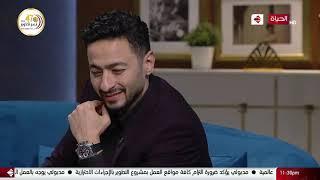 """واحد من الناس - لقاء الفنان النجم حماده هلال مع """"الساحر عزام"""".. فقرة كلها خدع وضحك"""