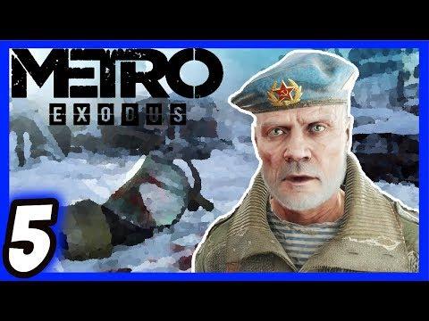 ✅Metro Exodus Walkthrough [5] Enemies Everywhere