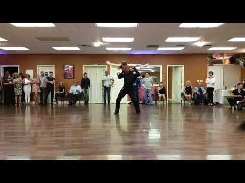 Uriel Garcia and Vera Rowe at Palm Beach Dance Bash