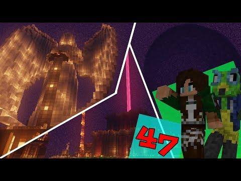 "Vanilla Minecraft Raiding & Griefing Server - CraftyMynes | ""CRAZY END BASE!"" | Ep. 47"