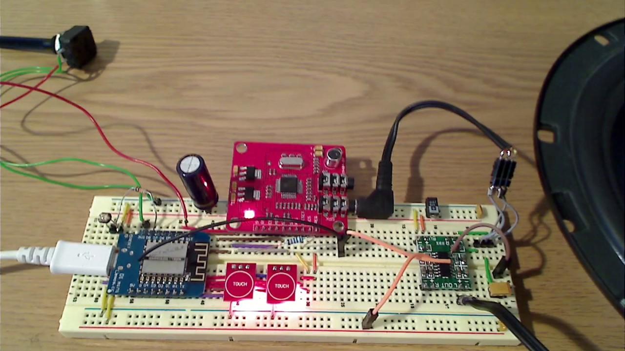 Arduino Webradio Mit Esp8266 Und Ldr Radio Für Badezimmer