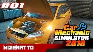 Trocando PNEUS / Car Mechanic Simulator 2018 (PC) / GTX 750 Ti 2gb