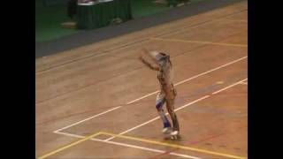VALENTINA MOCALI Cup fo Europe Luso 2009 - Free Dance (4 Elements)