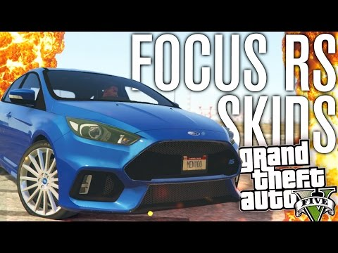 FORD FOCUS RS VS DRIFT COURSE! | GTA 5 Mods