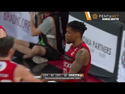 Perth Wildcats 96 def. Melbourne United 67 Highlights - 15 March 2019