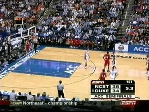 03/12/2005 ACC Tournament Semifinal #2:  NC State Wolfpack vs.  #5 Duke Blue Devils