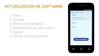 Tutorial Alcatel Pixi3 actualizacion de software