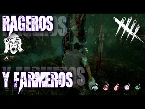 DEAD BY DAYLIGHT | GAMEPLAY | MEG | MYERS | Rageros y Farmeros