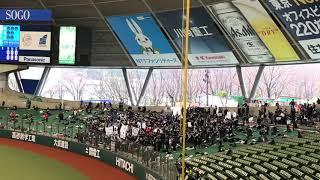 2018年3月20日にメットライフドームで行われたオープン戦、埼玉西武対千...