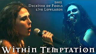 Within Temptation - Deceiver of Fools (Intro) live Lowlands (2002)