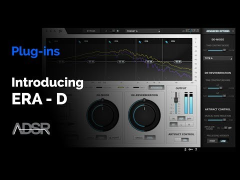 Era-D : De-noise & De-reverberation Plug-in from Accusonus
