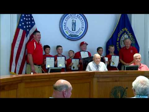 Pike County Fiscal Court August 2, 2016