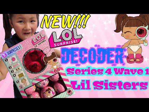 NEW!!! LOL SURPRISE DECODER Series 4 Lil Sisters | Sneak Peak | Every Club Revealed