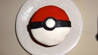 Pokéball Cupcake Tutorial