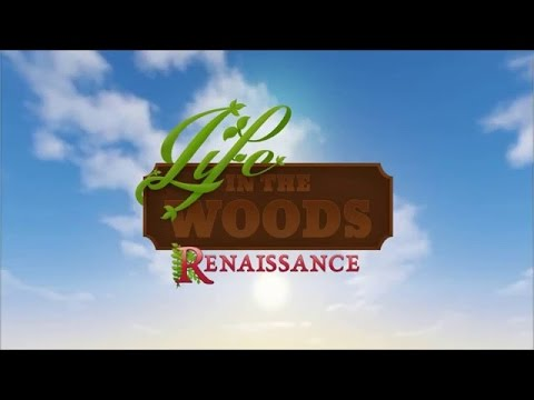 Life In The Woods Renaissance Livestream! House Building and Exploring From March 30th!