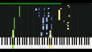 Elton John - Nikita [Piano Tutorial] Synthesia | passkeypiano