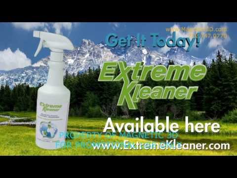 Magnetic 3D - Extreme Energy Solutions Content - Extreme Kleaner Promo