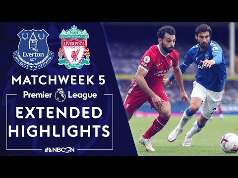 Everton v. Liverpool | PREMIER LEAGUE HIGHLIGHTS | 10/17/2020 | NBC Sports