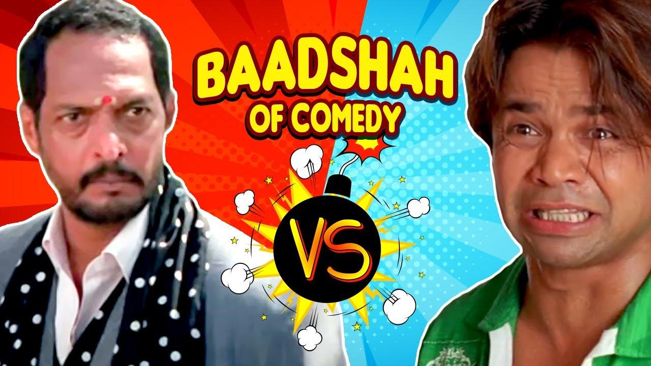 Download Best of Comedy Scenes   Baadshah Of Comedy - Nana Patekar VS Rajpal Yadav   Welcome - Dhol
