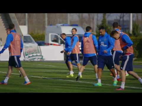 Предыгровая тренировка национальной сборной России в Краснодаре