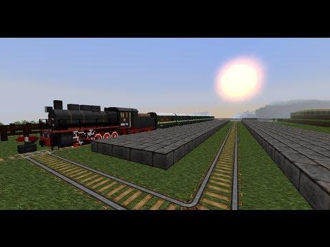 Minecraft - Trains Mod - Steam Train