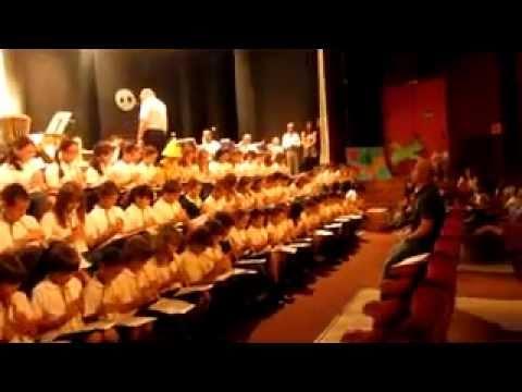 5º de Primaria con la Banda Municipal de Música (1)