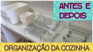 HIALLY ME AJUDA! COMPRINHAS + ANTES E DEPOIS DA COZINHA