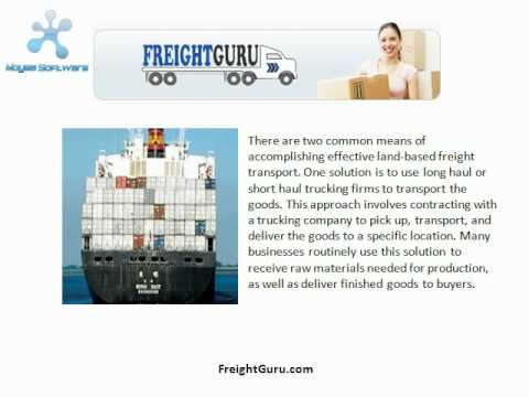 International Freight Transportation Services Offered Across The Globe