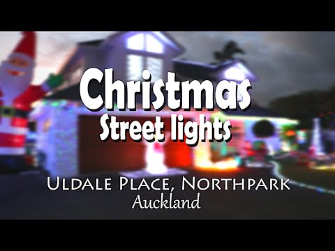 Christmas Street Lights, Uldale Place | Auckland | Explore New Zealand With Nemith