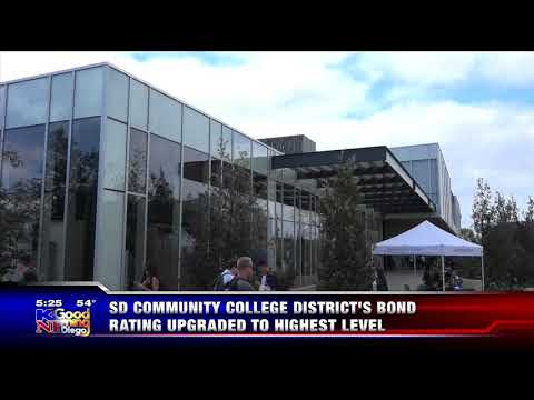 KUSI-SD: SD Community College District's Bond Rating Upgraded to Highest Level