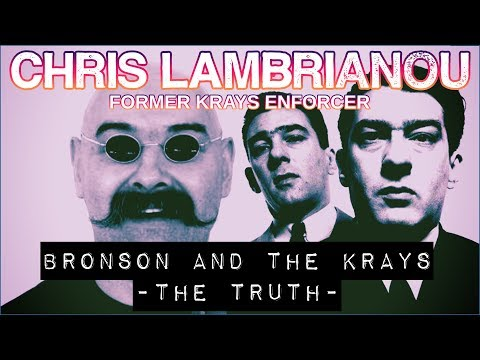 Charles Bronson And The Krays - Chris Lambrianou from YouTube · Duration:  7 minutes 6 seconds
