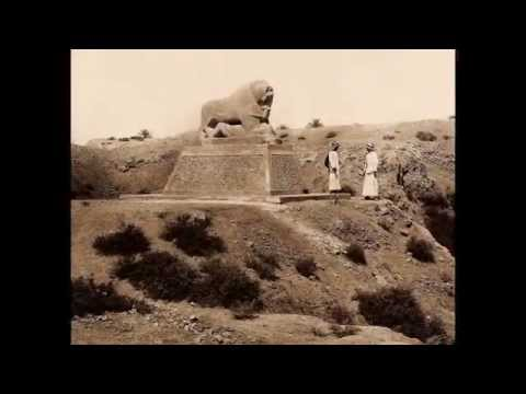 Ruins of Ancient City of Babylon, Iraq 1932