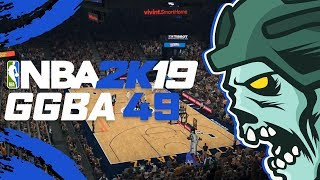 "NBA 2K19 'GGBA' Season 2 Fantasy League - ""Jazz vs Trail Blazers"" - Part 49 (CUSTOM myLEAGUE)"