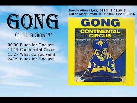 Gong - Continental Circus,1971