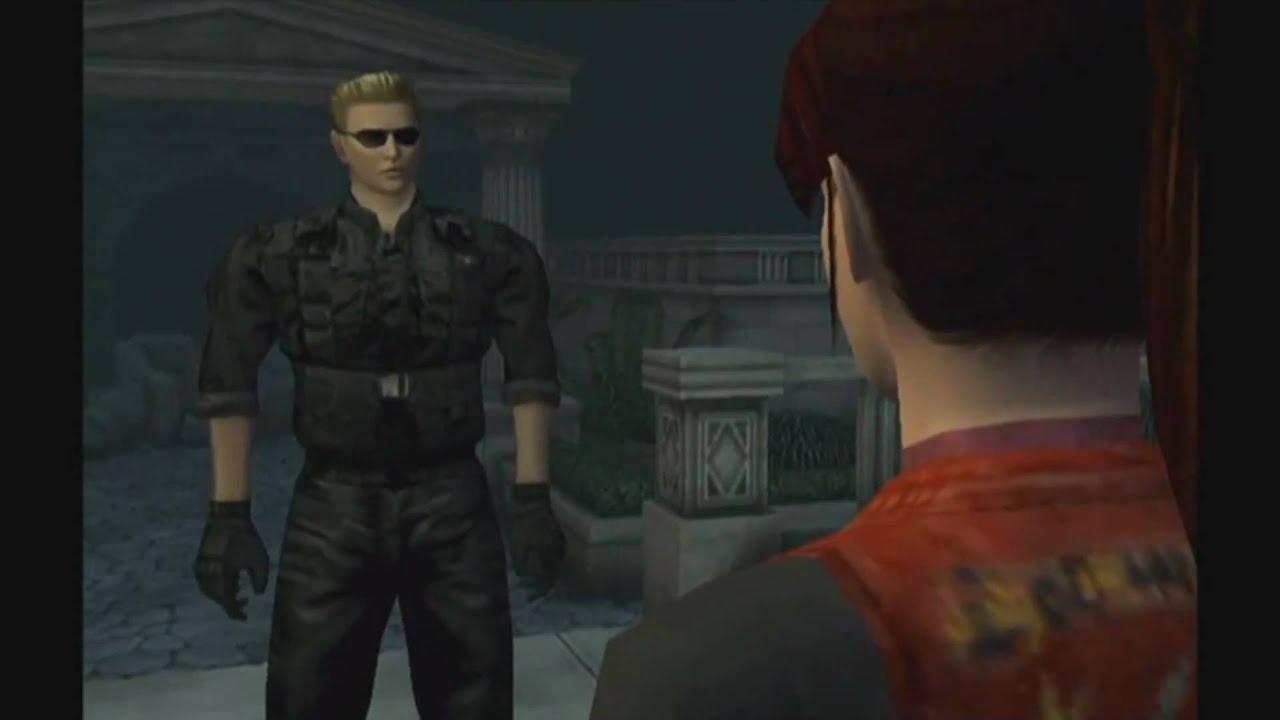 Wesker Wallpaper Hd Resident Evil Code Veronica X Wesker Meets Claire