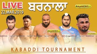🔴 [Live] Barnala | Kabaddi Tournament 22 Mar 2019
