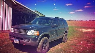 2002 Ford Explorer Project: Body Lift