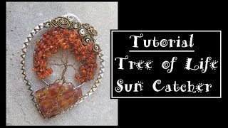 Amber Wire Tree of Life