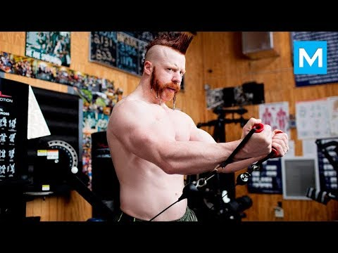 Thumbnail: Sheamus Training for WWE (wrestling) | Muscle Madness