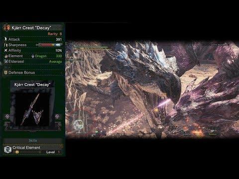 Kjarr Crest Decay - Lance build discussion/hunt (full commentary) Monster Hunter: World thumbnail