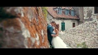 Красивая свадьба в Черногории Кристина и Алексей 21.09.2015