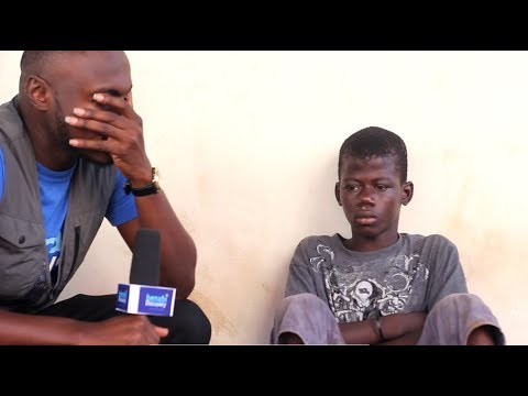 My family abandoned me Street child Osman tells sad story