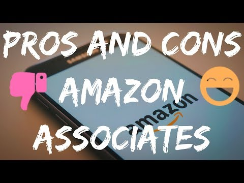 PROS AND CONS OF AMAZON AFFILIATE ASSOCIATES PROGRAM REVEALED! 🛑