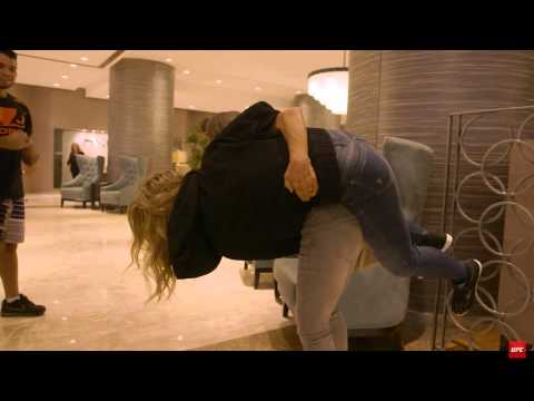 Ronda Rousey's Mother Judo throw!