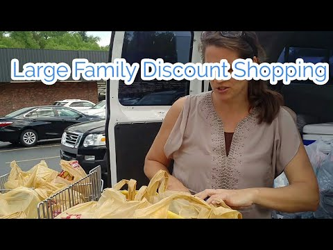 Large family DISCOUNT SHOPPING and  Breakfast Bowls