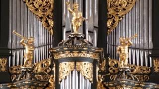 Sietze de Vries - Robert Schumann, Canon As dur, orgel Middelstum