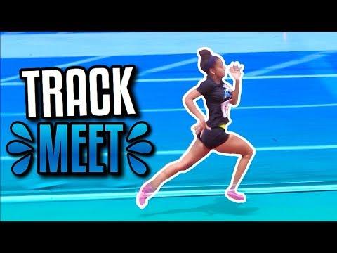 TRACK MEET VLOG! | Azlia Williams