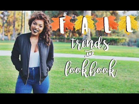 FALL FASHION TRENDS || Fall Lookbook 2016