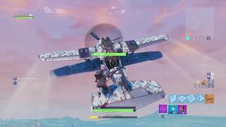 Fortnite: Tour at my home in the Fortnite and bug of the Phantom airplane
